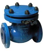 Клапан обратный КОП 100-160 поворотный, ТУ 3742-003-07533604-94, класс герметичности А