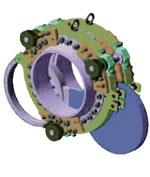 Цилиндрический насадной мотор-редуктор SiTi MPD